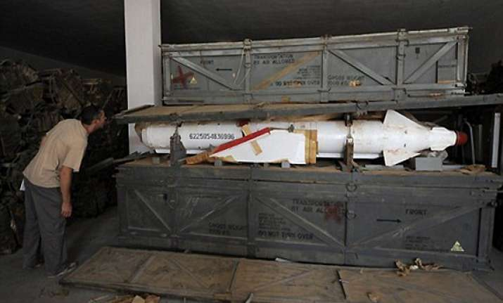 gaddafi s chemical weapons found in libya