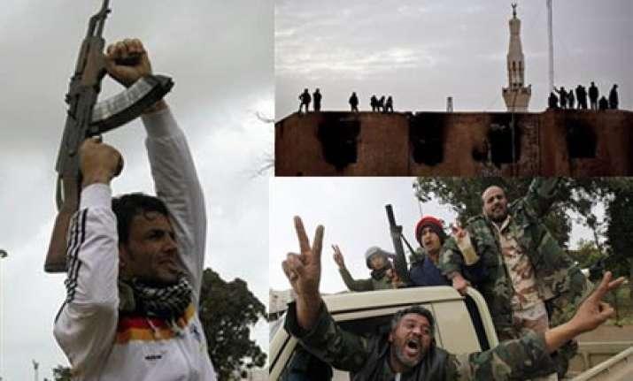 gaddafi s regime shrinks to tripoli as misurata zaqiyah