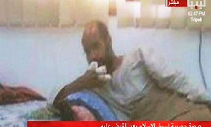 gaddafi s son seif arrested says ntc justice minister