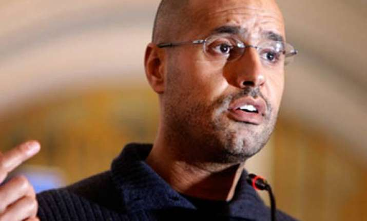 gaddafi s son claims forces have not committed excesses