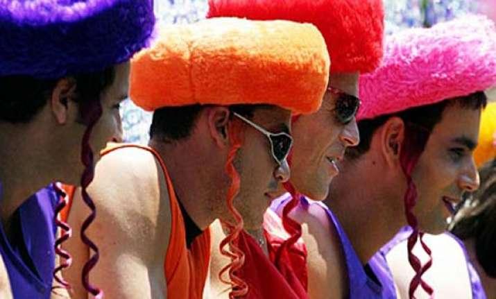 gay pride parade begins in israel s tel aviv