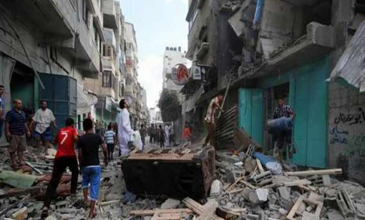 gaza toll hits 337 on day 12 un chief heads to region