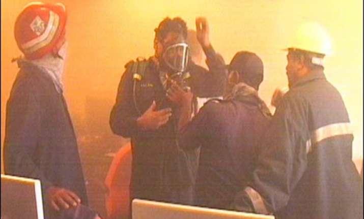 geo news head office gutted in fire