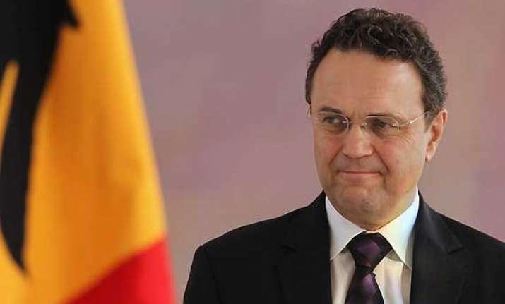 german minister resigns over child pornography probe leak
