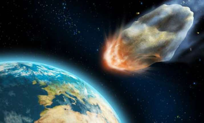 giant asteroids wiped out life on early earth