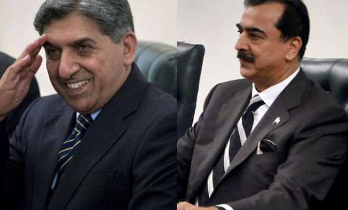 gilani dimisses reports of extension for isi chief ahmed