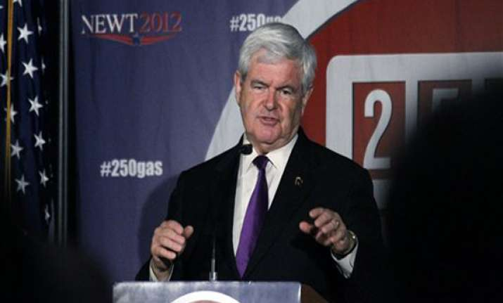 gingrich accuses pak of hiding bin laden for seven years