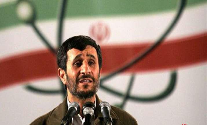 go build 4 nuclear reactors ahmadinejad tells iranian