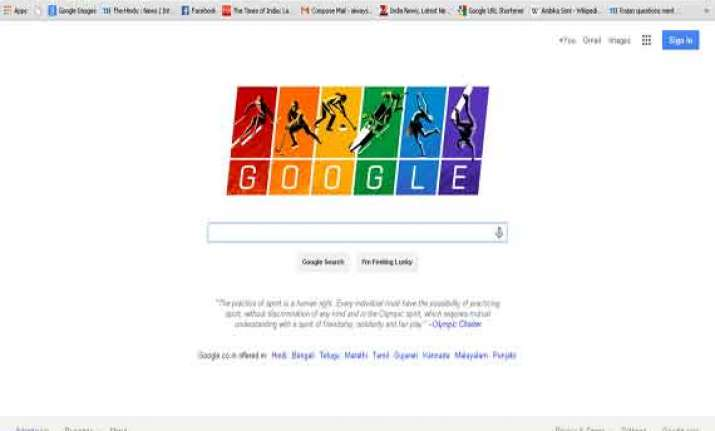 google show support for gay community with its olympic