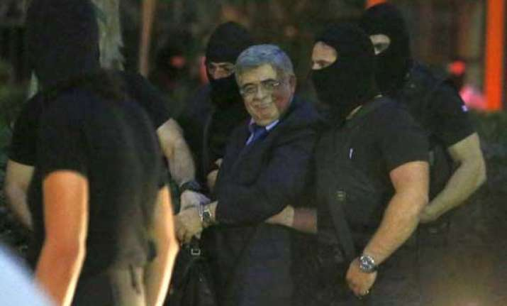greek far right leader jailed