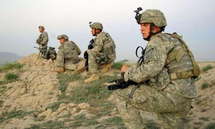 gunman in afghan uniform kills us soldier on base
