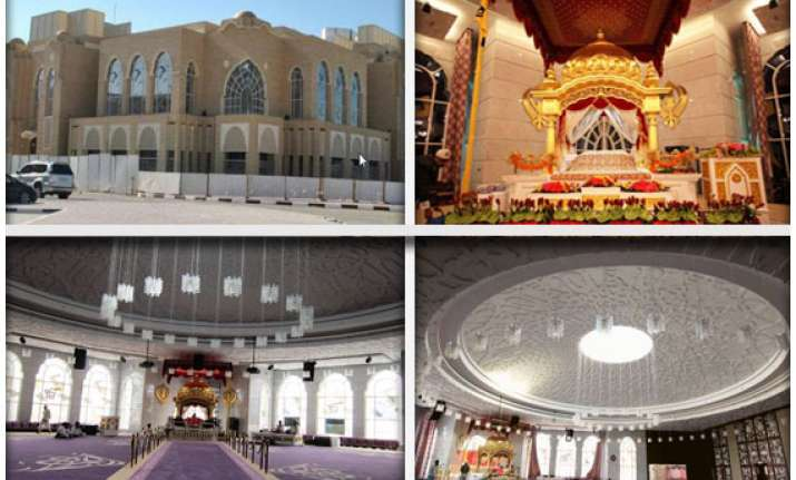 guru nanak darbar the only gurdwara in the entire gulf