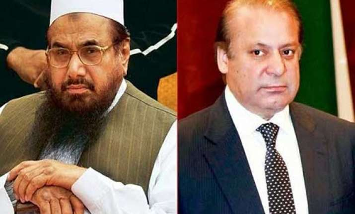 hafiz saeed questions nawaz sharif over his may 26 india