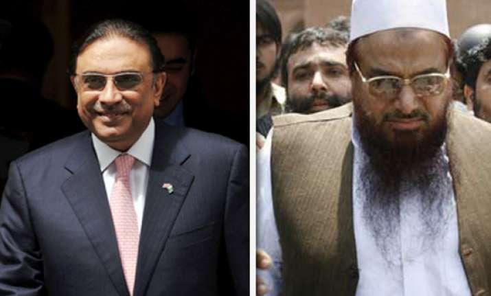 hafiz saeed not to be focus of talks with manmohan singh
