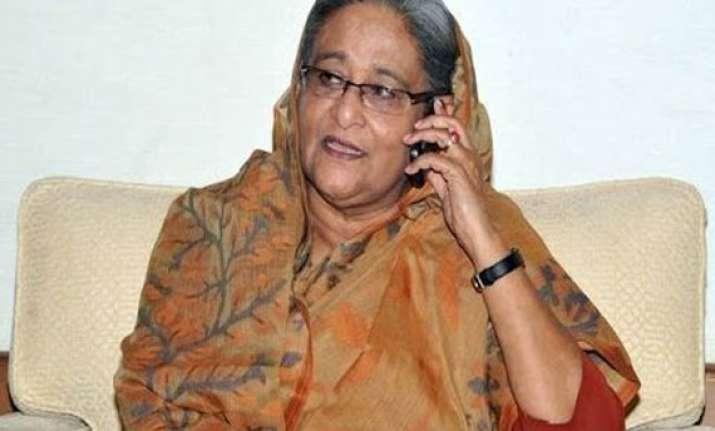 hasina congratulates modi invites him to visit bangladesh