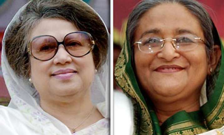 hasina accuses bnp of plotting against her government