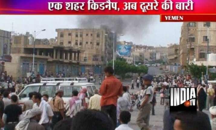heavy fighting resumes in yemen s capital