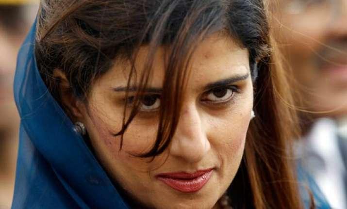 hina rabbani says india pak should not be held hostage to