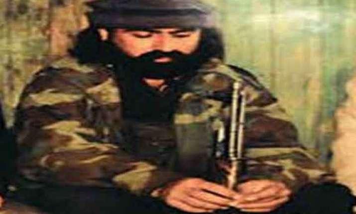 hizbul commander mast gul resurfaces in peshawar