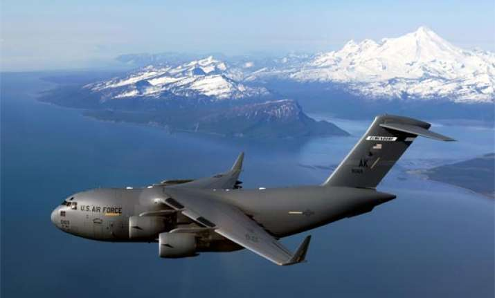 iaf takes possession of first boeing c 17 globemaster