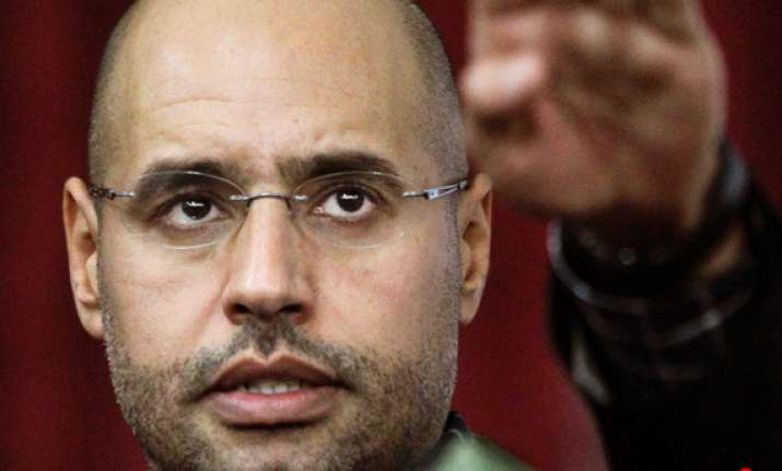 icc in contact with gaddafi s son on possible surrender