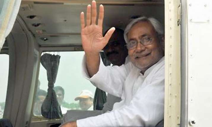 i feel happy to be in pakistan says nitish kumar