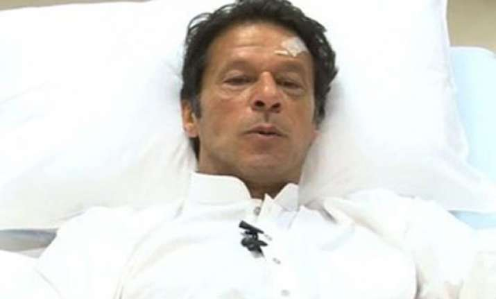 imran khan discharged from hospital after fall