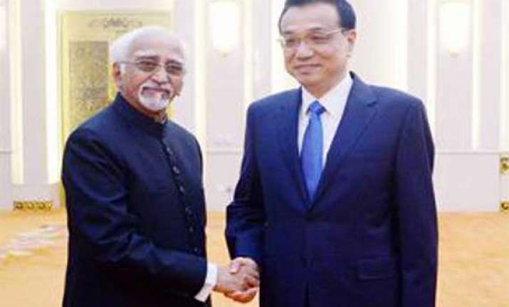 india china ink agreement on industrial parks