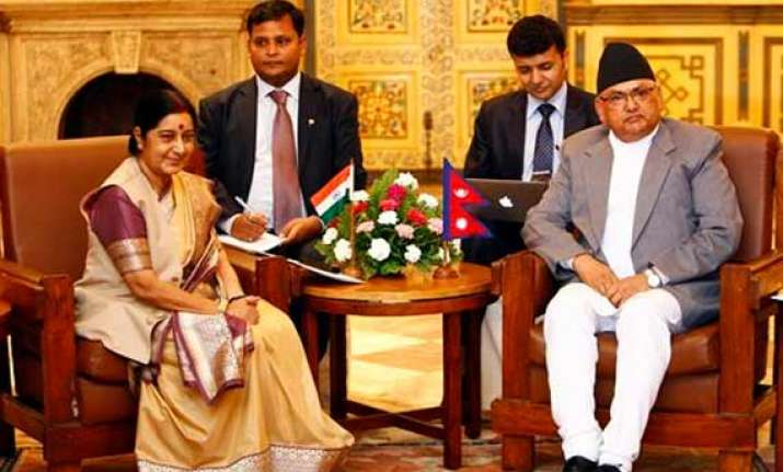 india nepal agree to review 1950 treaty