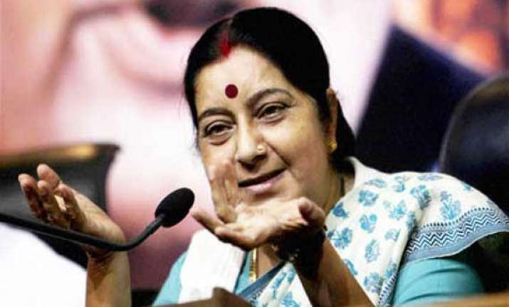 india for careful handling of bangla migrants issue sushma