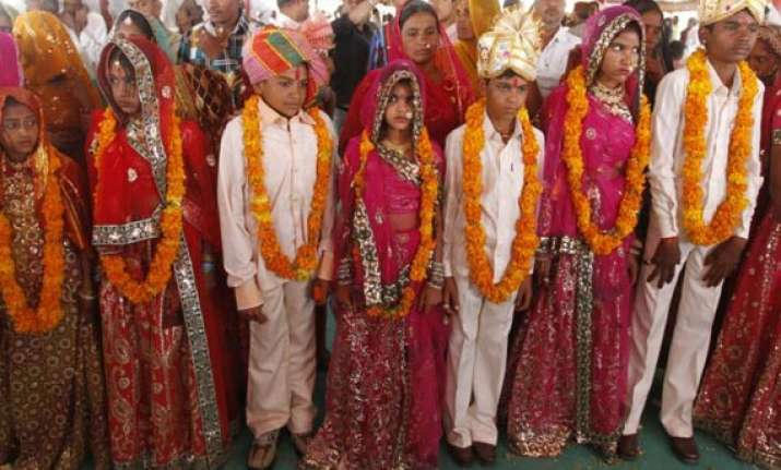 india home to one in every three child brides in world un