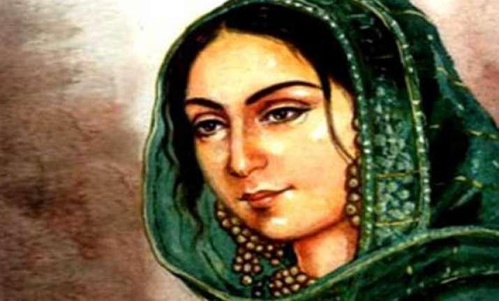india recalls hazrat mahal s contribution to freedom