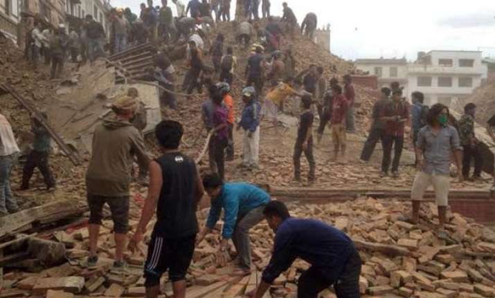 how a section of pak media linked nepal earthquake to hindu