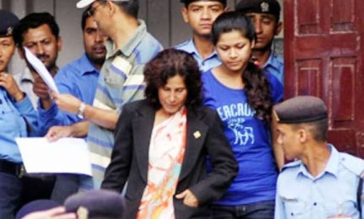 sobhraj s wife mother in law sent to jail in contempt case