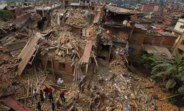 increased risk of another major nepal india earthquake us