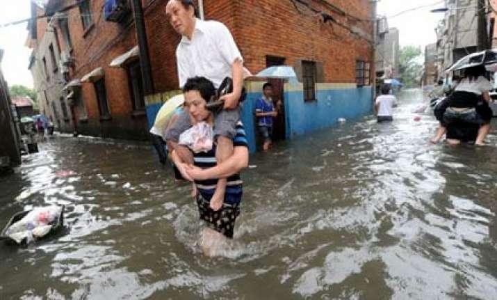 147 killed as heavy rains pound china