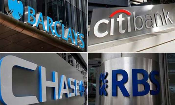 banks fined 2.5 billion to plead guilty to market rigging