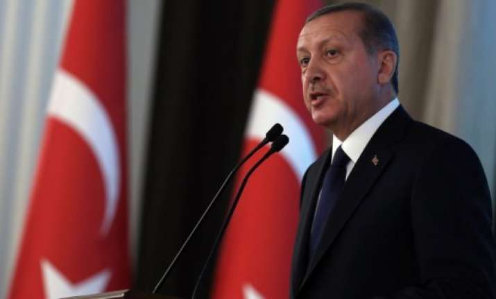 turkey president slams parties instigating street violence
