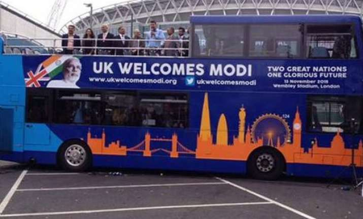 modi express bus launched in uk