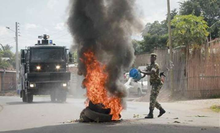 local media burundi opposition figure shot dead in capital
