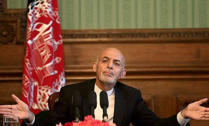 stop support to taliban afghan president ashraf ghani to