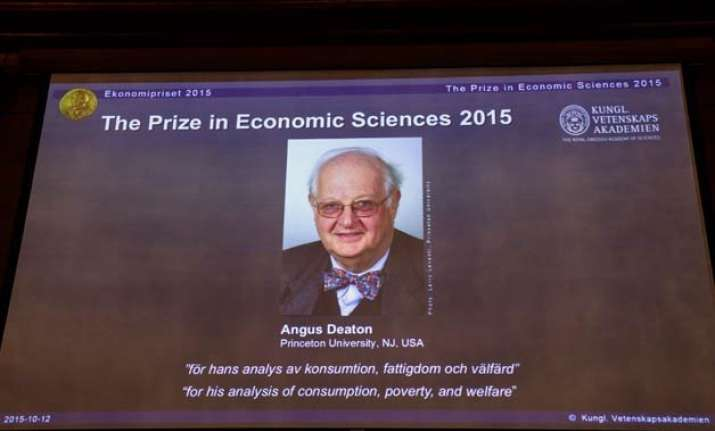 scottish economist angus deaton wins nobel economics prize
