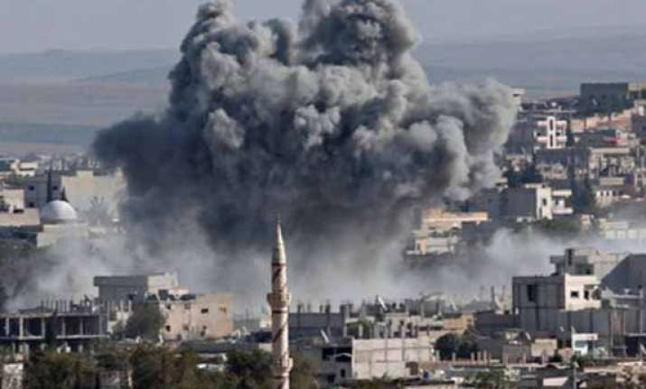 over 550 killed in us led airstrikes in syria