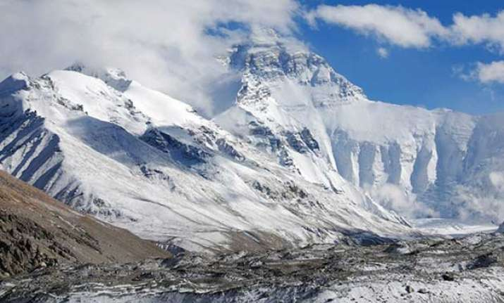 over 70 percent of everest glacier s volume may be lost by