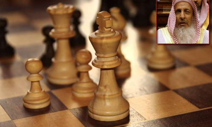 chess is haram in islam says saudi arabia s grand mufti