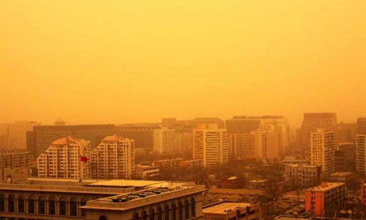 yellow dust hits south korea warnings issued