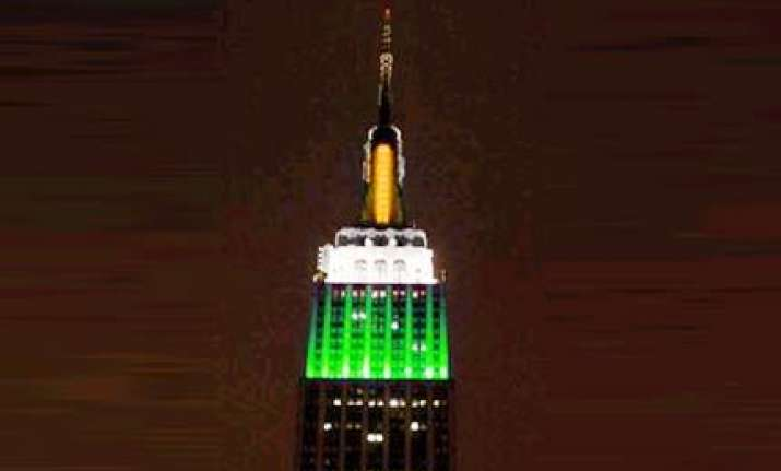empire state building will shine in tricolour for 3 days