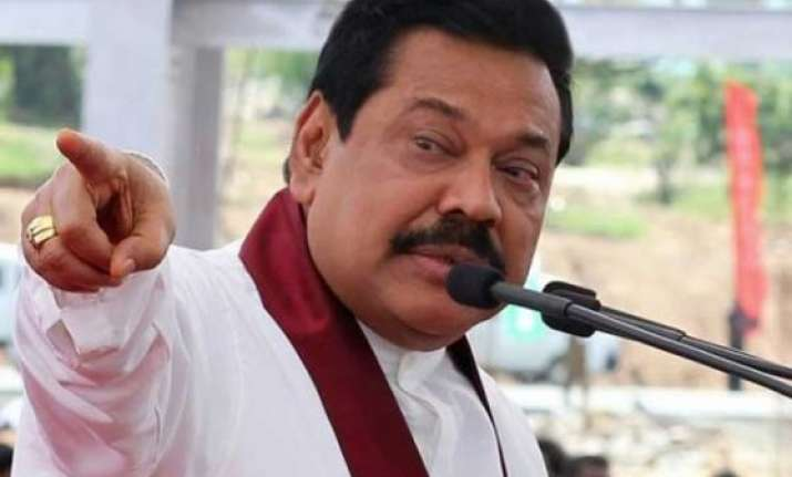 rajapaksa hits out at opposition for taking pro tamil stand