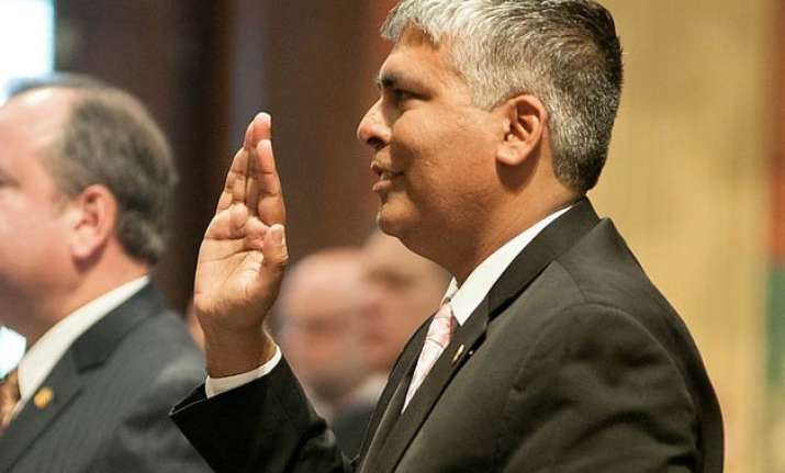 indian american appointed minority floor leader in michigan