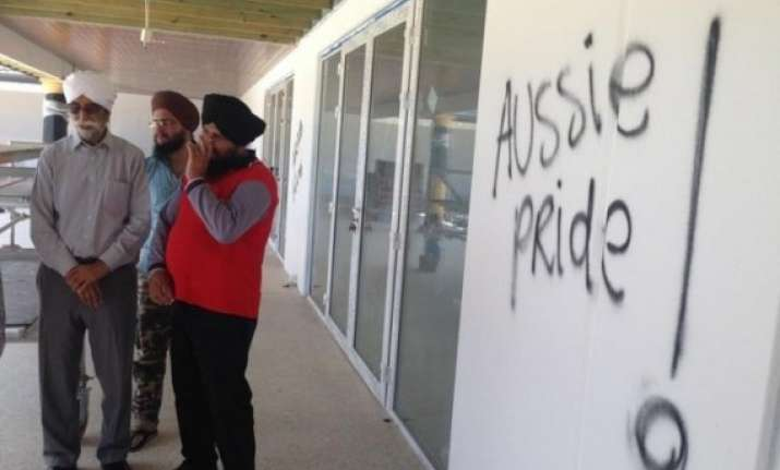 sikh gurdwara vandalised in australia